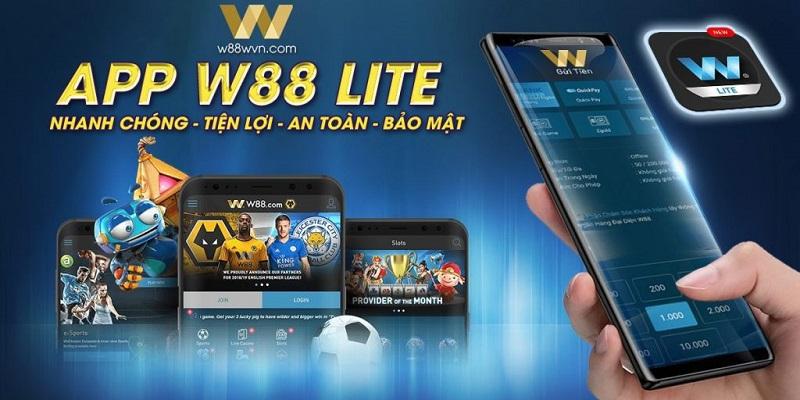 App W88 mang tới trải nghiệm cá cược hiện đại